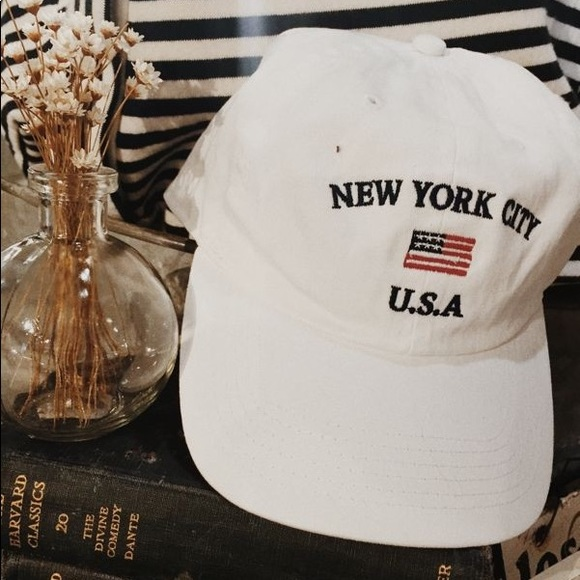 88ac521a81f Brandy Melville Accessories - Brandy Melville New York City USA Hat